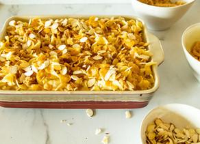 Robyn's Sweet Noodle Pudding (Kugel)