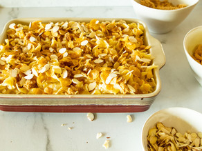 Robyn's Sweet Noodle Pudding (Kugel)