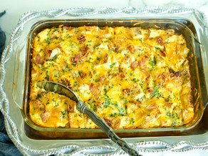 English Muffin Breakfast Bake