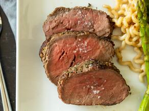 Beef Tenderloin in Herbed Salt Crust