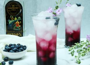 Lavender Blueberry Vodka Sparkler