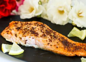 Maple-Roasted Salmon Brûlée
