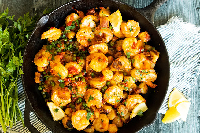 Spanish-Style  Cauliflower Gnocchi Skill