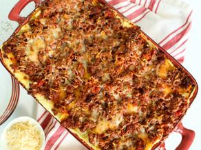 Deep Dish Meat Lasagna