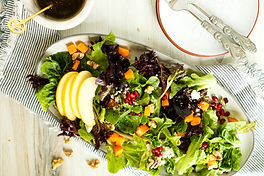 ROASTED BUTTERNUT SQUASH & APPLE SALAD.j