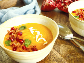 Butternut Squash Soup with Crisp Pancetta