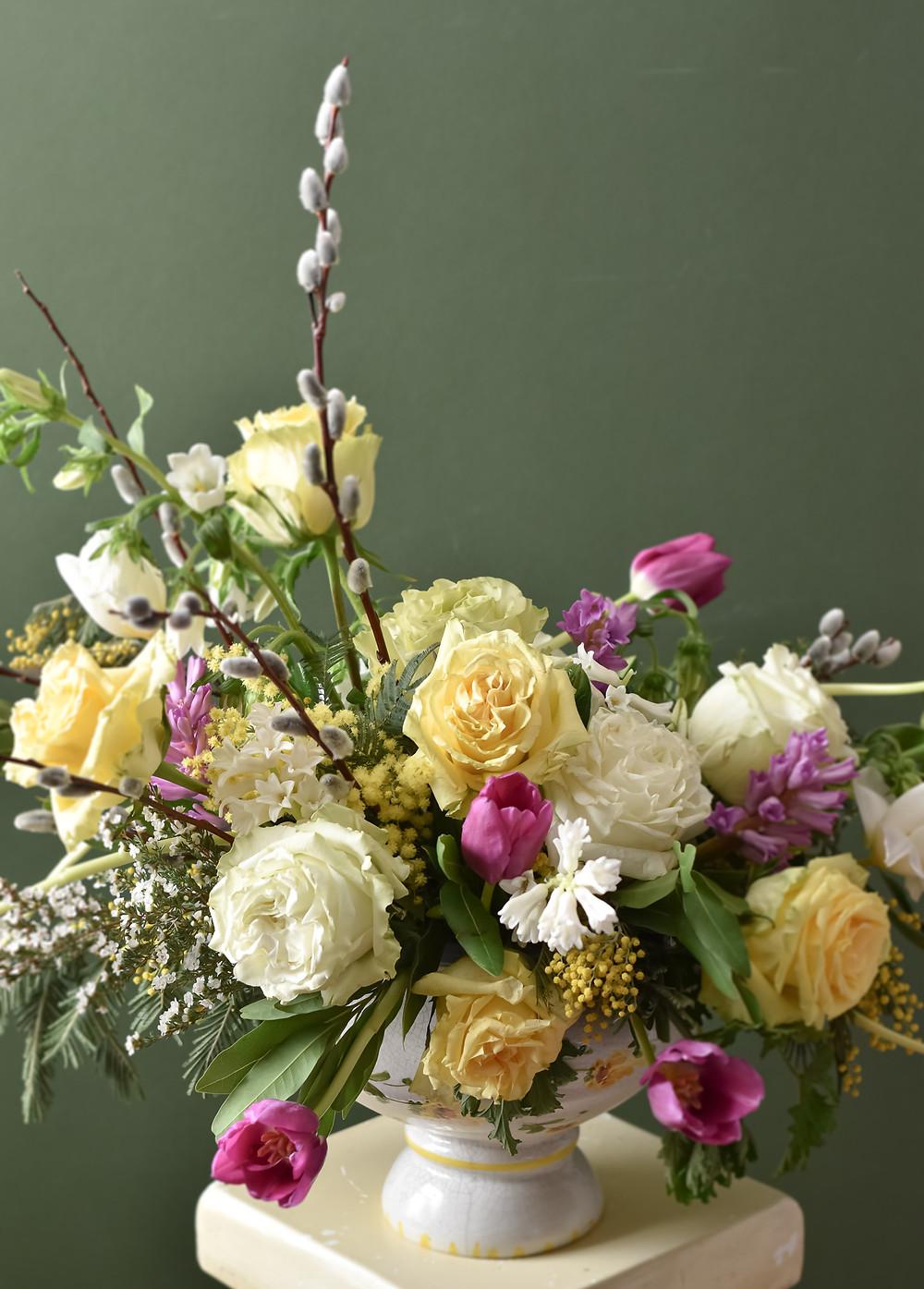 Heaven Scent Floral Design Studio - Spring Floral Arrangement