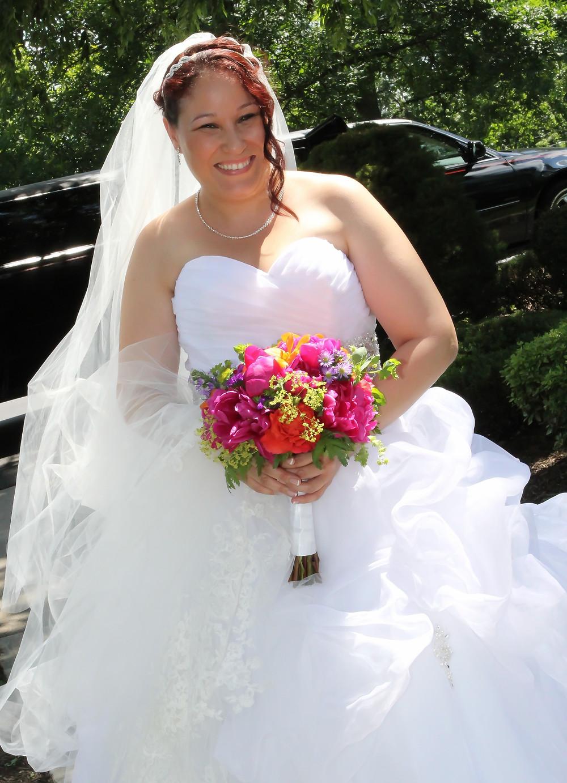 Magenta Peonies Summer Wedding Flowers | Heaven Scent Floral Design | New Jersey Wedding Florist