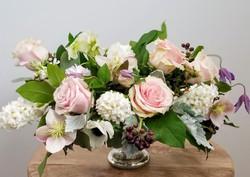 Blush Rose Spring Wedding Flowers