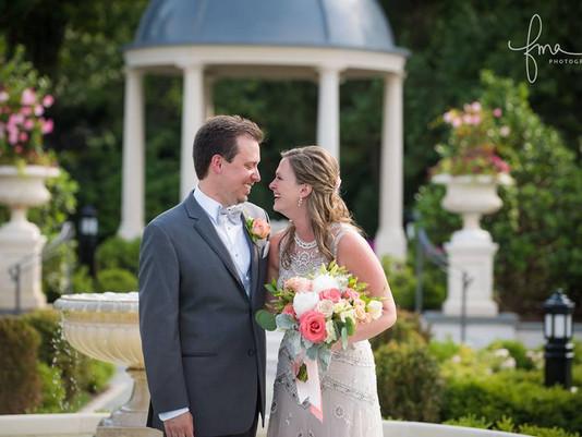 Peach, Blush & Coral Wedding @ Park Chateau | Julie + Ryan's Wedding
