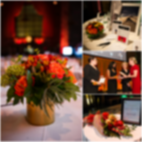 Fundraising Gala | Fall Centerpieces | Heaven Scent Floral Design