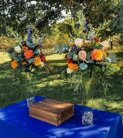 Rustic Blue Wedding