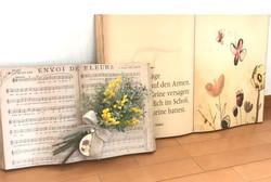 壁面アート楽譜