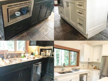 Alpine carriage house kitchen