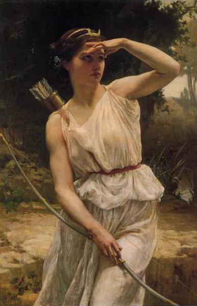 Artemis, Diana, Moon Goddess, Sagittarius, The Huntress, Astrology