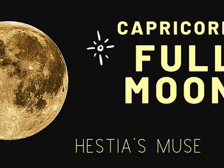Capricorn Full Moon & Eclipse, July 4 2020