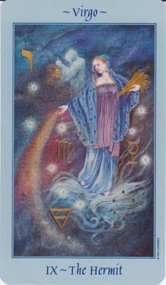 Tarot, The Hermit, Virgo, Spica, Astrology, Astronomy
