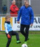 Trainer Sidi en Vincent Cu-ba team