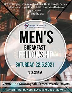 Copy of Church Mens Fellowship Flyer Tem