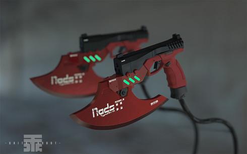 携行型火焔放射器「Nads9」
