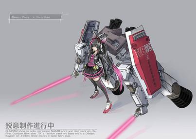 Daitai Robot × manicsmania