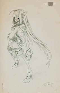 Drawing -Sia-