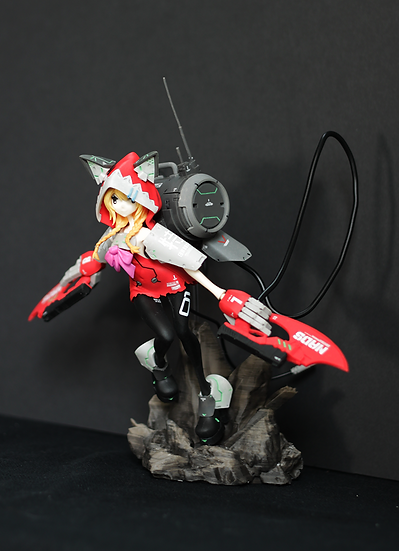 "26-Shiki FlameThrowerEngineer""Kono"" Resin Kit"