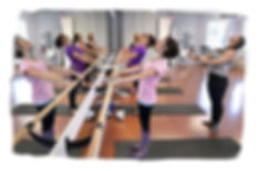 Pilates on the Barre