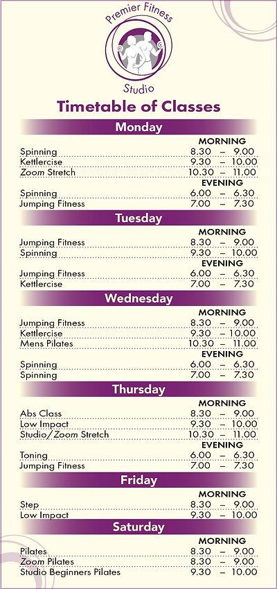 thumbnail_Premier Fitness Timetable 2020