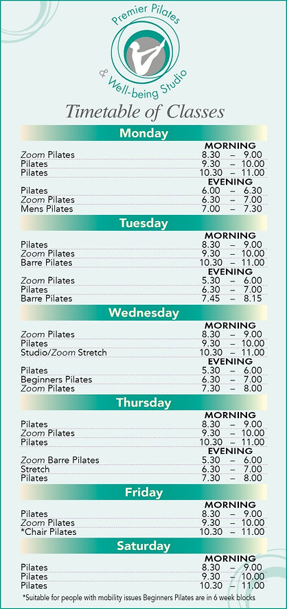 thumbnail_Premier Pilates Timetable 2020