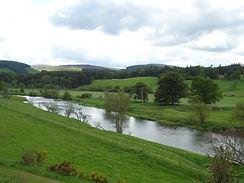 River Tweed in Scottish Borders