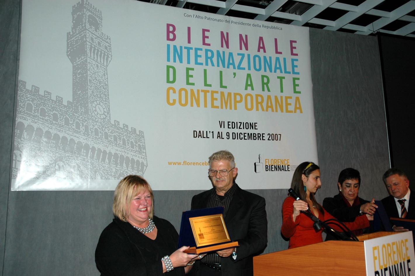 Award, Biennale Florence