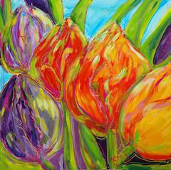Tulips in Spring