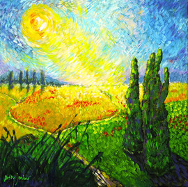 Betty-jonker-art-Paysage-a-la-van-Gogh_1