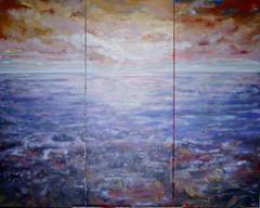 Waddenzee gezien vanaf Ameland