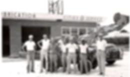 1956 J.G. Hortons Crew building a gas st