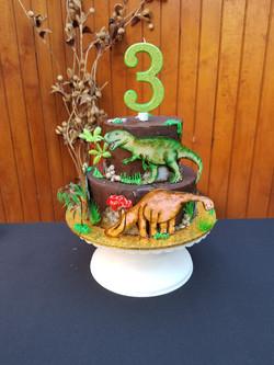 torta tematica dinosaurio