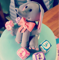 elefante baby shower