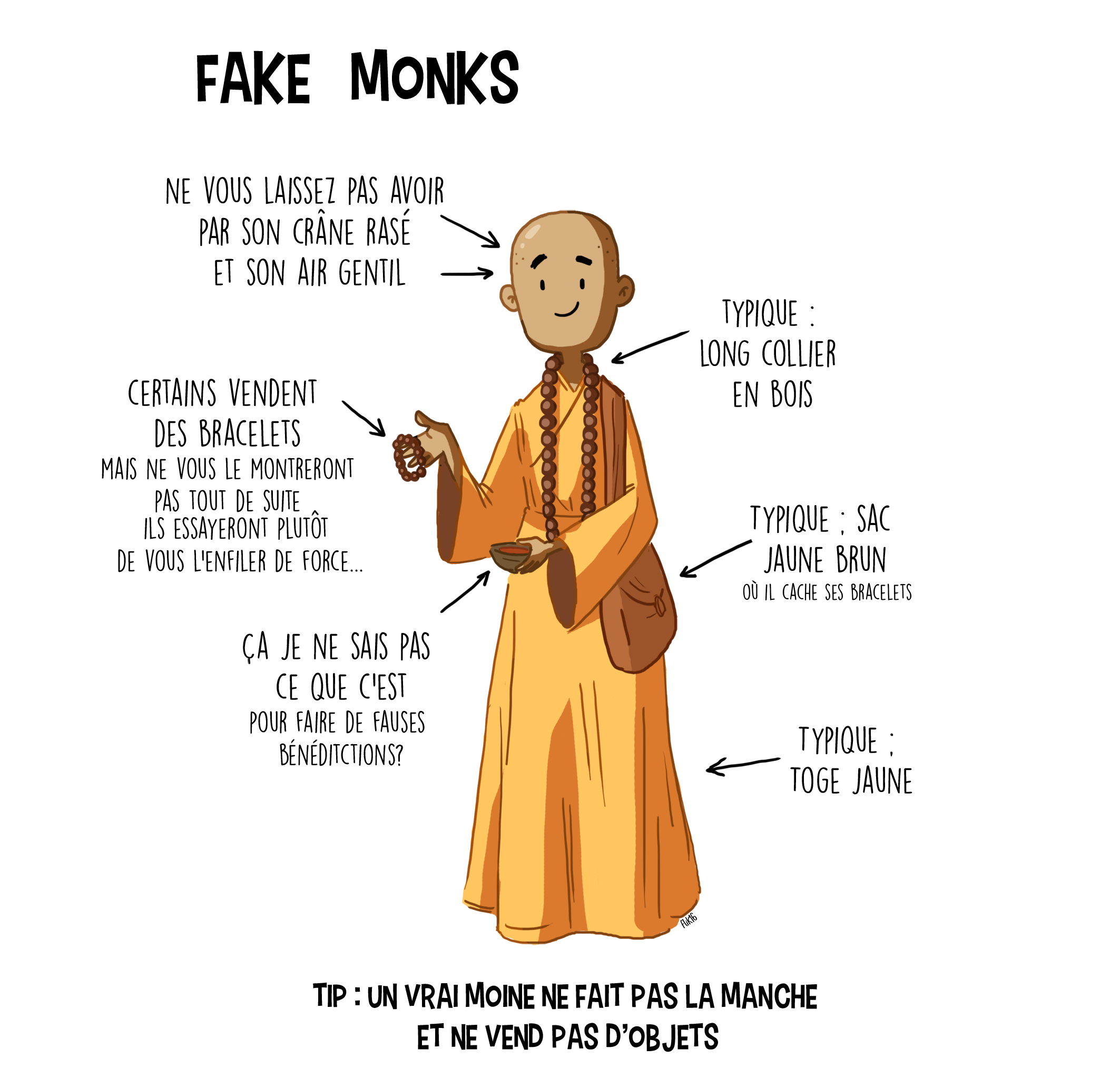 Fake monk2