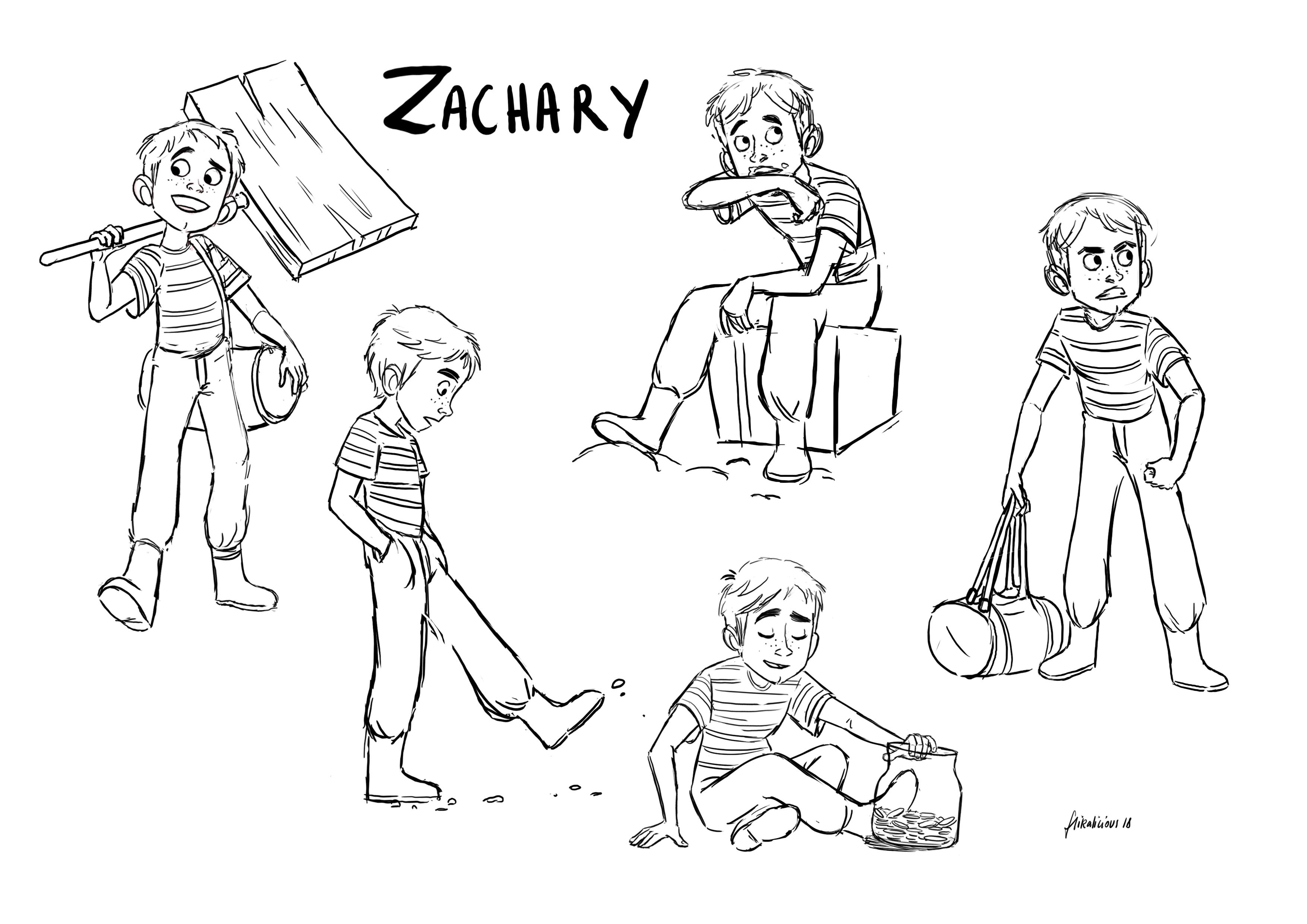 Flikalicious - CharaDesign - Zach