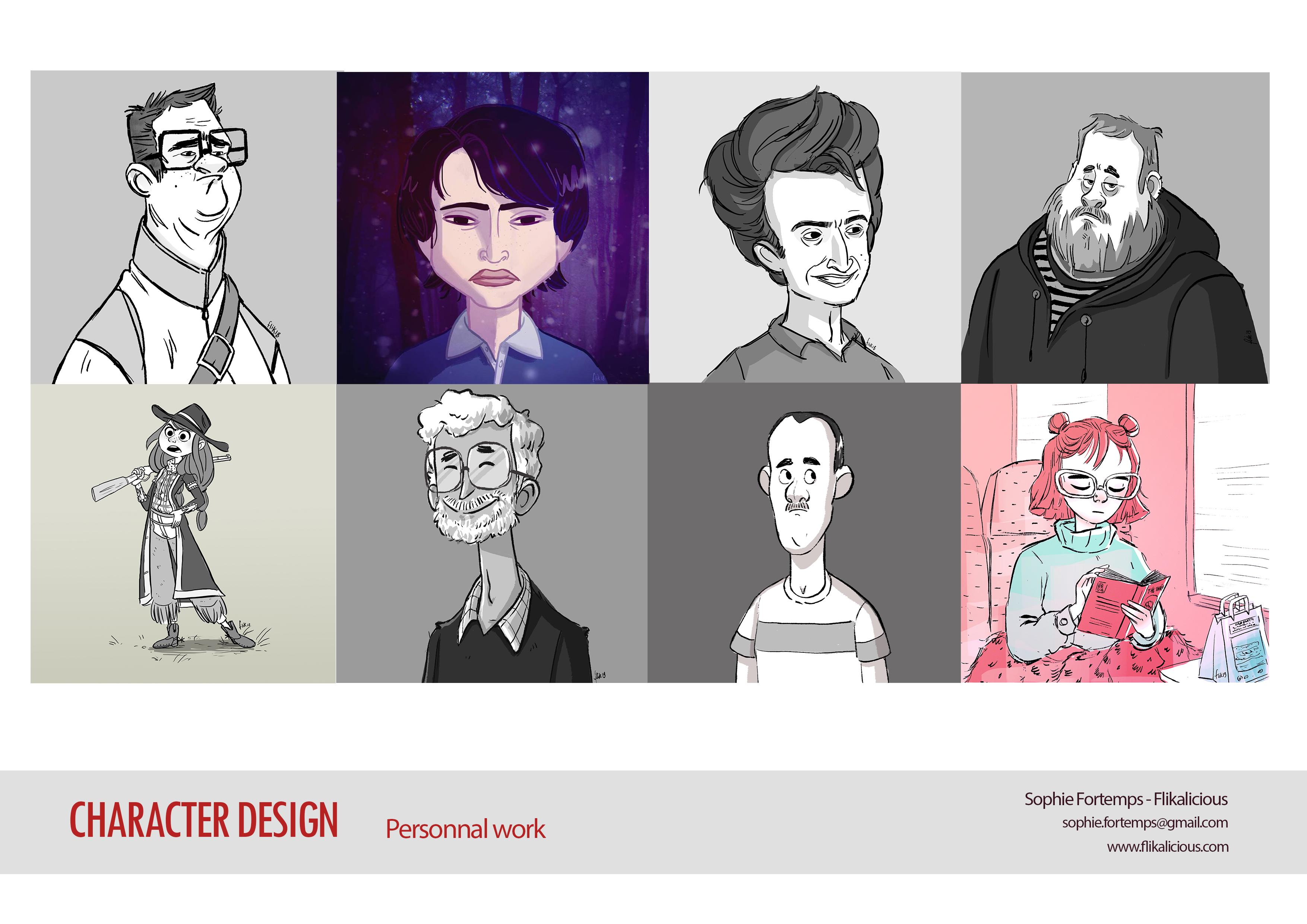 Portfolio - Character Design - PERSO002-