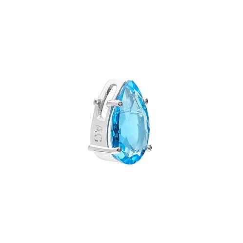 Pingente Gota Azul