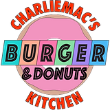 Charliemac's Burger and Donuts Kitchen Logo