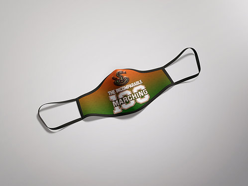 "Marching 100 ""Rattler"" Face Mask"