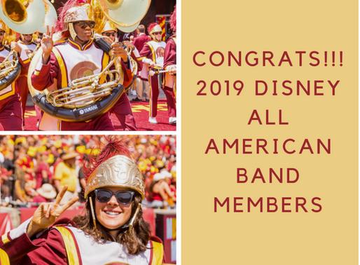 New Disneyland all American College Band