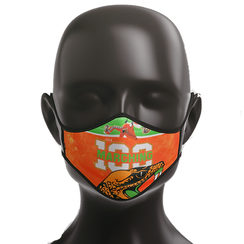 Marching 100 Fall 2020 Face Mask