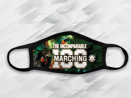 """Marching 100 """"The Incomparable"""" Face Mask"""