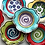 Thumbnail: medium Handmade Pottery flower bowl art Bowl by Artzfolk