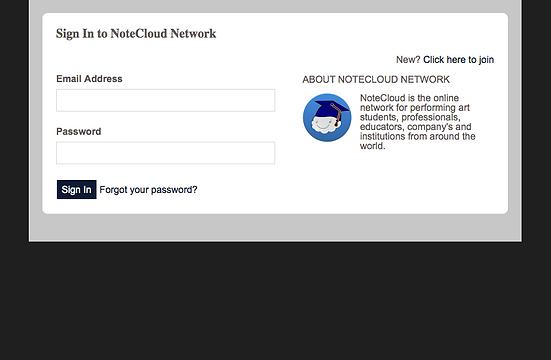 Creat Your Profie   NoteCloud