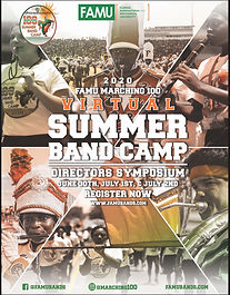 Famu Virtual Summer Band Camp 2020